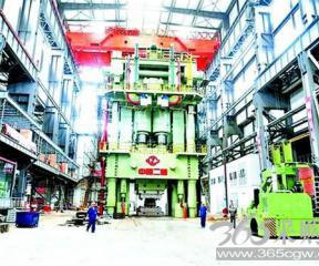 中国冲压设备制造跻身世界前三:竞标曾输韩国