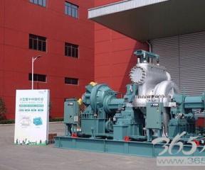 江森自控推出大型蒸汽轮机驱动型离心式热泵