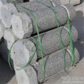 批发芝麻白止车柱各种规格定做加工