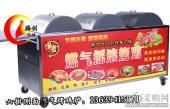 升级六排旋转燃气烤鸡炉|侧面加热液化气无烟摇滚烤鸡车