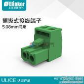 上海联捷PCB线路板端子LC1-5.08-2P