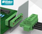 上海联捷插拔式穿墙端子底座 PCB板专用穿墙接线端子