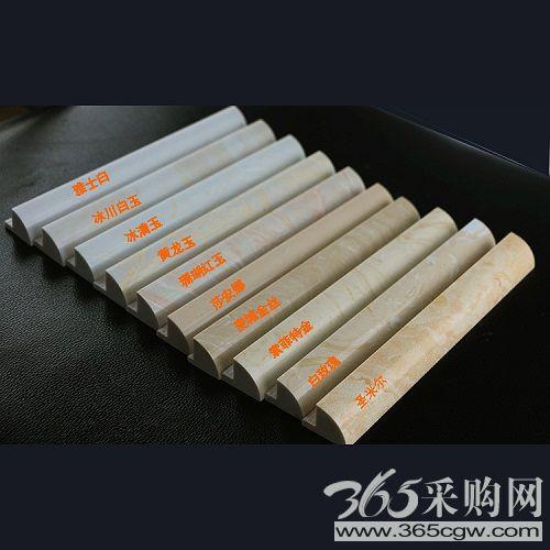 云浮市石材厂家人造石阳角线岗石修边线通体收边条阳角条