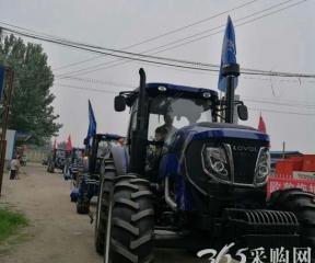 雷沃阿波斯农业装备——沈丘县15个村的共同选择