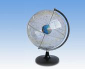 Transparesnt star globe
