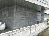 广东湛江火山岩黑洞石 古建筑石 玄武岩青石板 市政道路铺