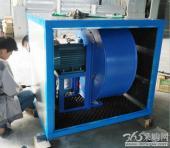定制低噪声特殊用途管道抽风机离心式箱式静音排风机380V改