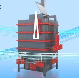 新型生活垃圾催化解析炉
