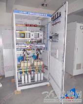 自主研发节电设备中频炉谐波滤波柜
