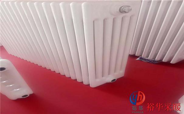 加厚钢管钢六柱暖气片 低碳钢制柱式钢六柱散热器