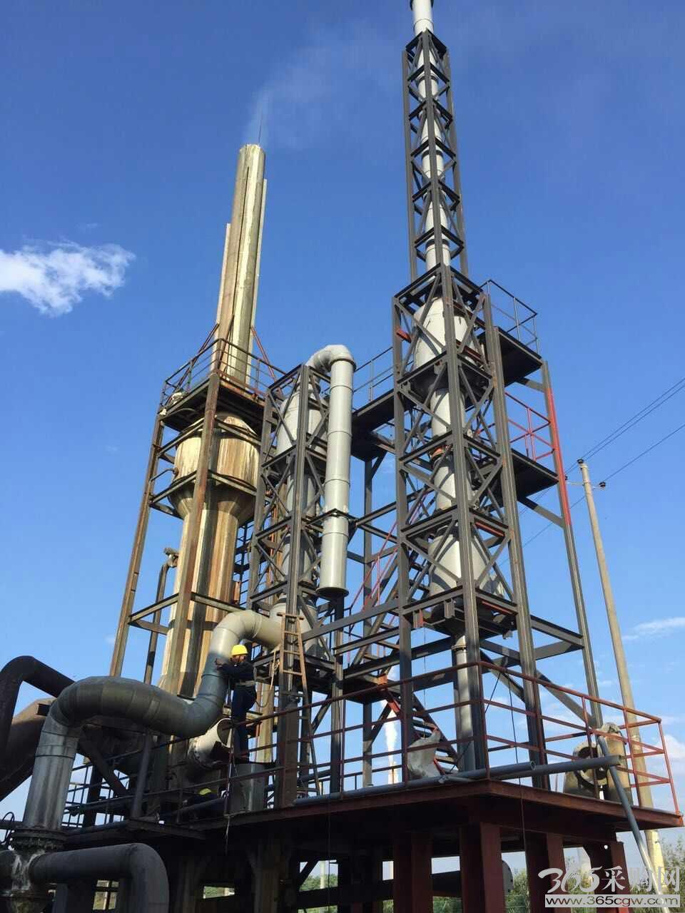 反射炉气动乳化脱硫塔